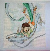 Схема для вышивки крестом Унесенные призраками - 3. Отшив.